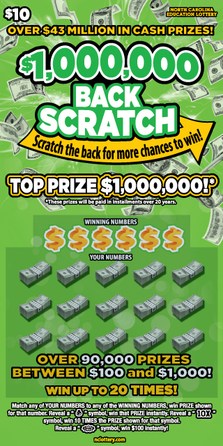 Scratch-Offs | NC Education Lottery